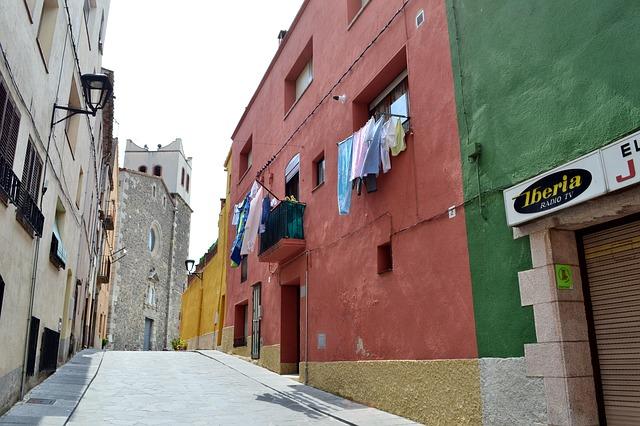 Mooie authentieke straten